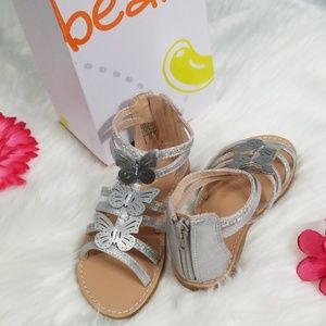 Super cute glitzy girls sandles.NWT